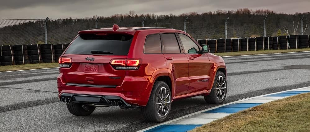 2019 Jeep Grand Cherokee Red