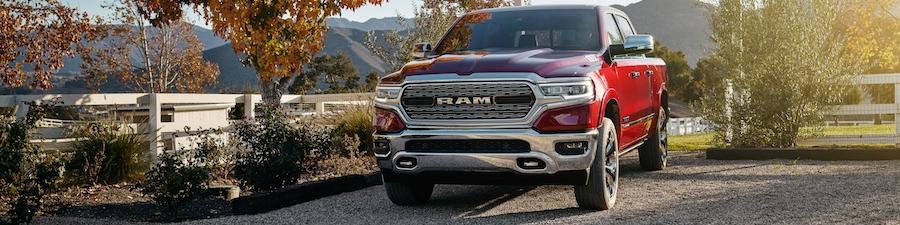 2019 Ram 1500 Red