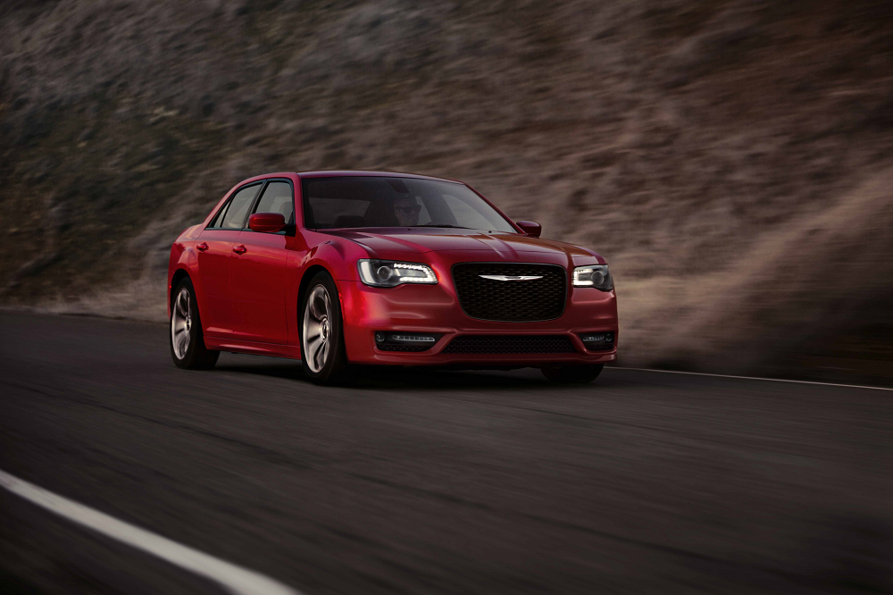 2018 Chrysler 300 Red