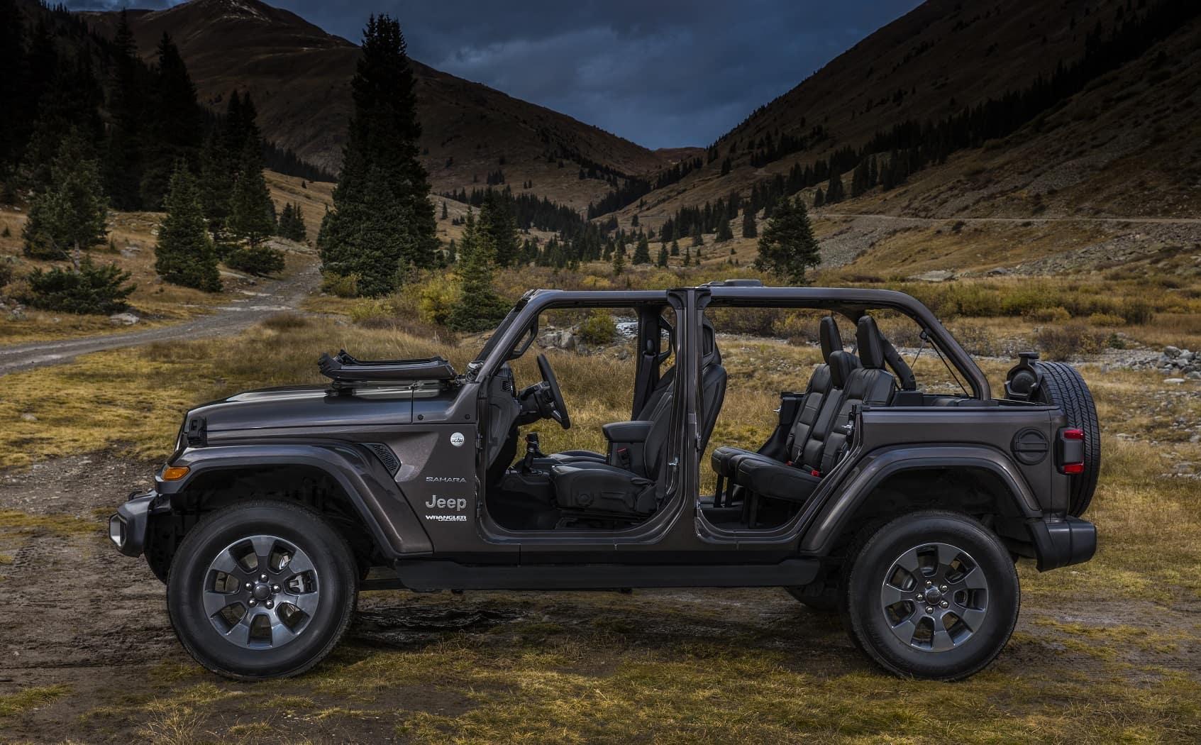 Jeep Wrangler Sahara Trim