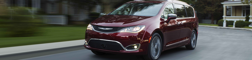 Maroon Chrysler Pacifica