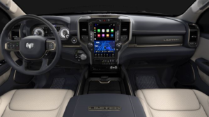 Ram vs Toyota: Interior Technology