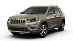 2019 Jeep Cherokee Limited FWD Light Brownstone Pearl Coat