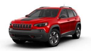 2019 Jeep Cherokee Trailhawk Elite Firecracker Red