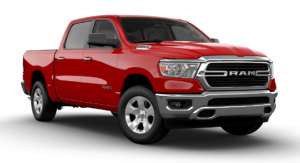 2019 RAM 1500 BIG HORN CREW CAB BOX in Flame Red Clear Coat