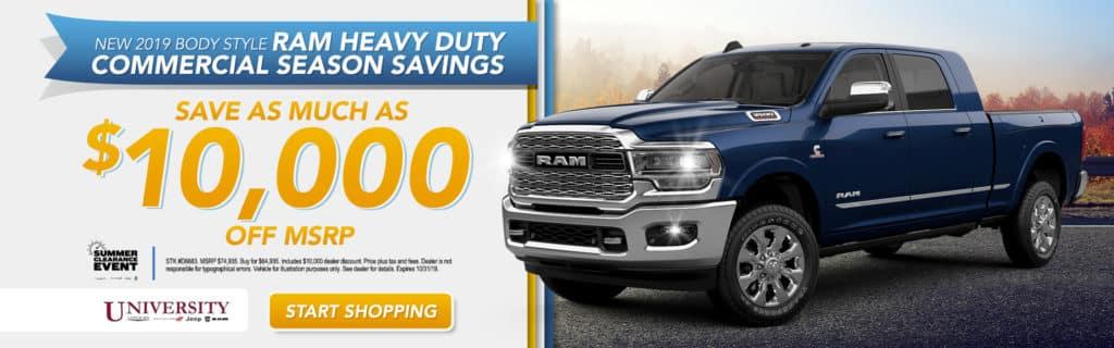 NEW 2019 RAM 3500 LARAMIE CREW CAB 4X4 6'4