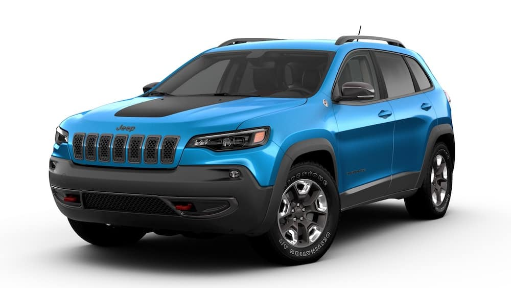 Jeep Cherokee Hydro Blue Pearl Coat
