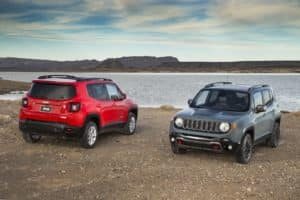 Jeep Renegade Latitude and Trailhawk
