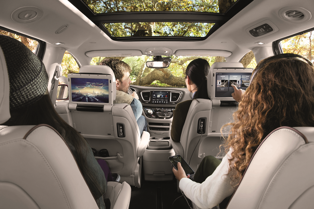 Chrysler Pacifica Technology Features