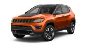 Jeep Compass Spitfire Orange