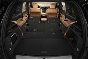 Jeep Grand Cherokee Cargo Space