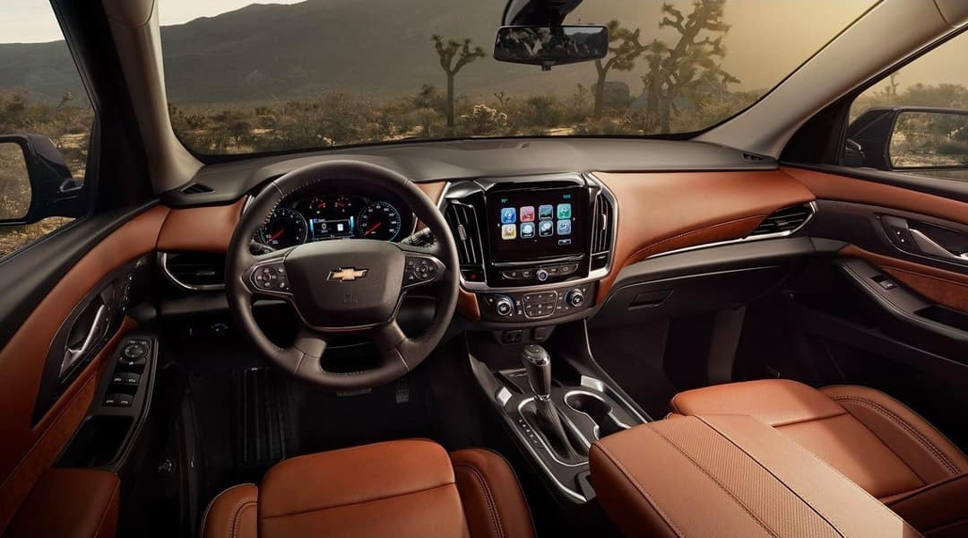 2019 Chevrolet Traverse interior dashboard