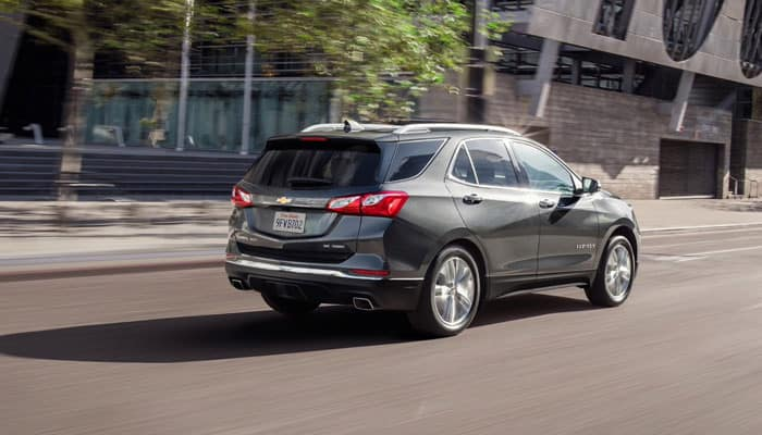 2019 Chevrolet Equinox Driving on Road