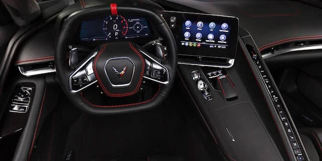 2020 Chevrolet Corvette reveal interior design