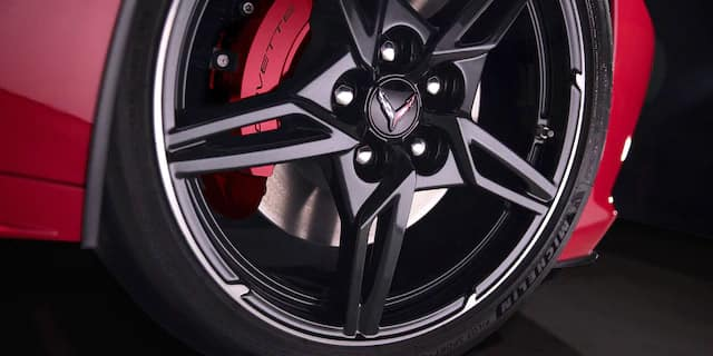 2020 Chevrolet Corvette reveal tire design