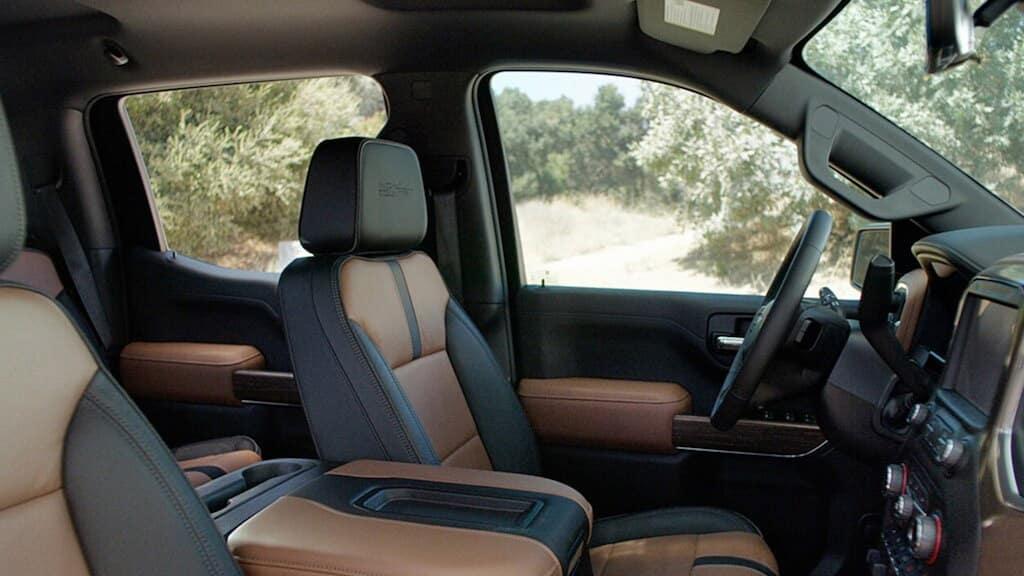 2020 Chevrolet Silverado front interior