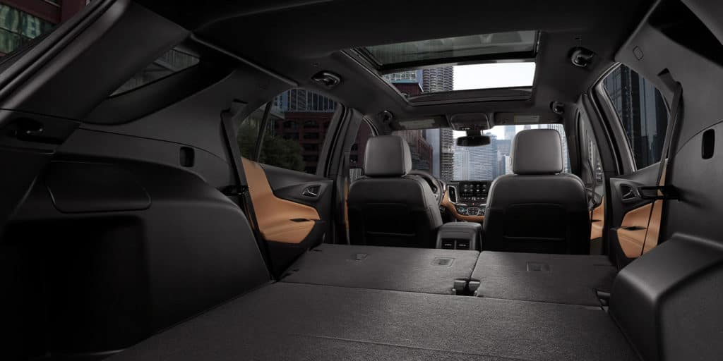 2020 Chevrolet Equinox back interior