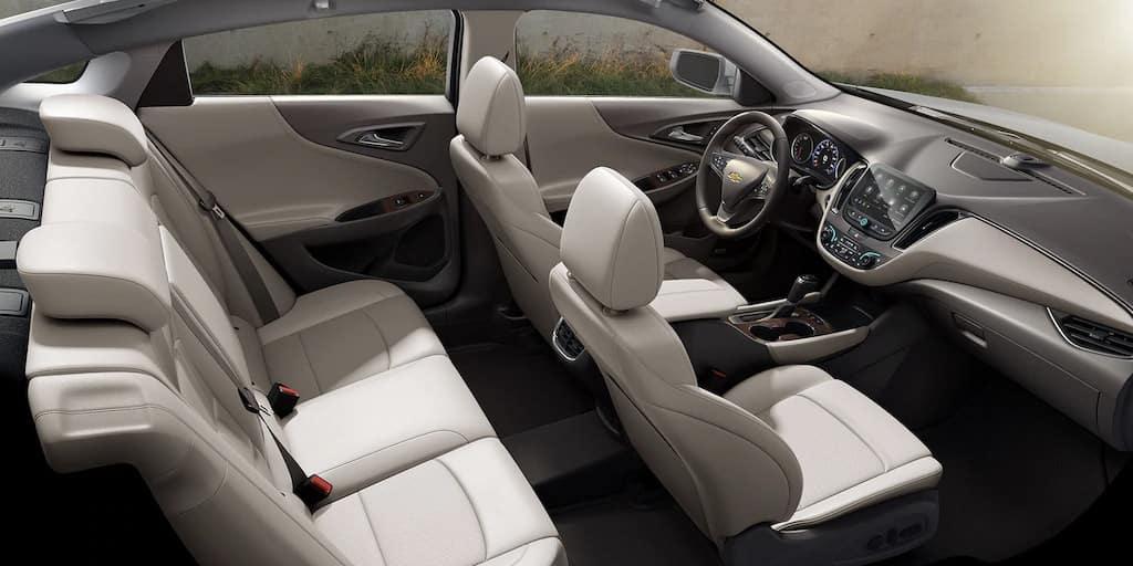 2020 Chevrolet Malibu interior seating