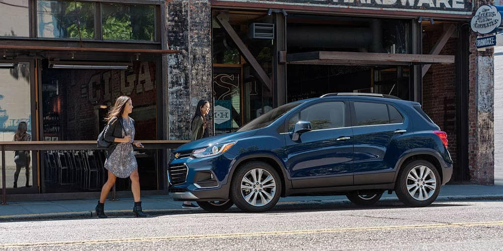 2020 Chevy Trax Parked