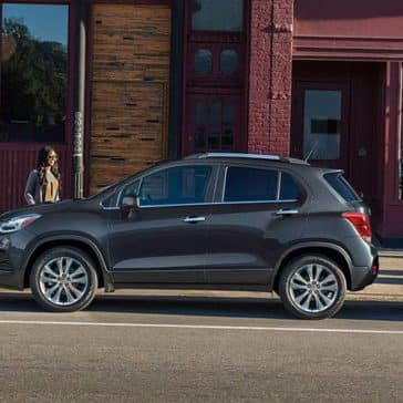 2020 Chevy Trax Side View