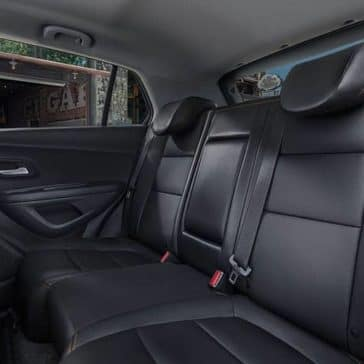 2020 Chevy Trax Back Seat