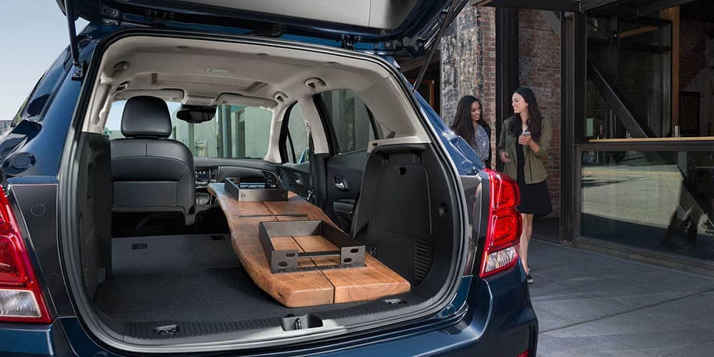 2020 Chevy Trax Trunk Space