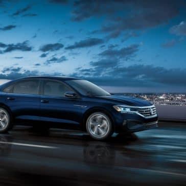 VW_Passat_Blue_Driving_City