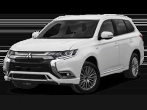 2019 Mitsubishi Outlander PHEV - angled