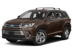 2019 Toyota Highlander Hybrid brown