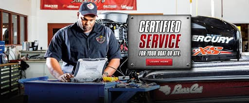 Certified Outboard Service Department
