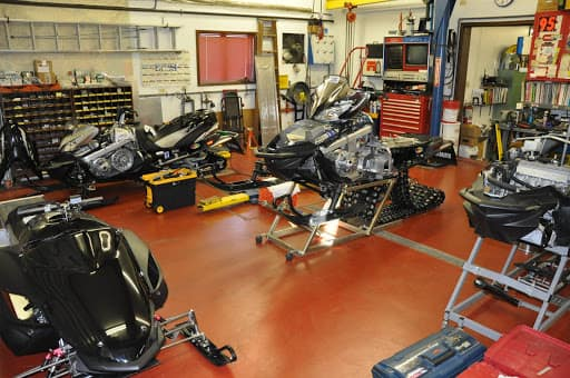 Certified snowmobile Service Department