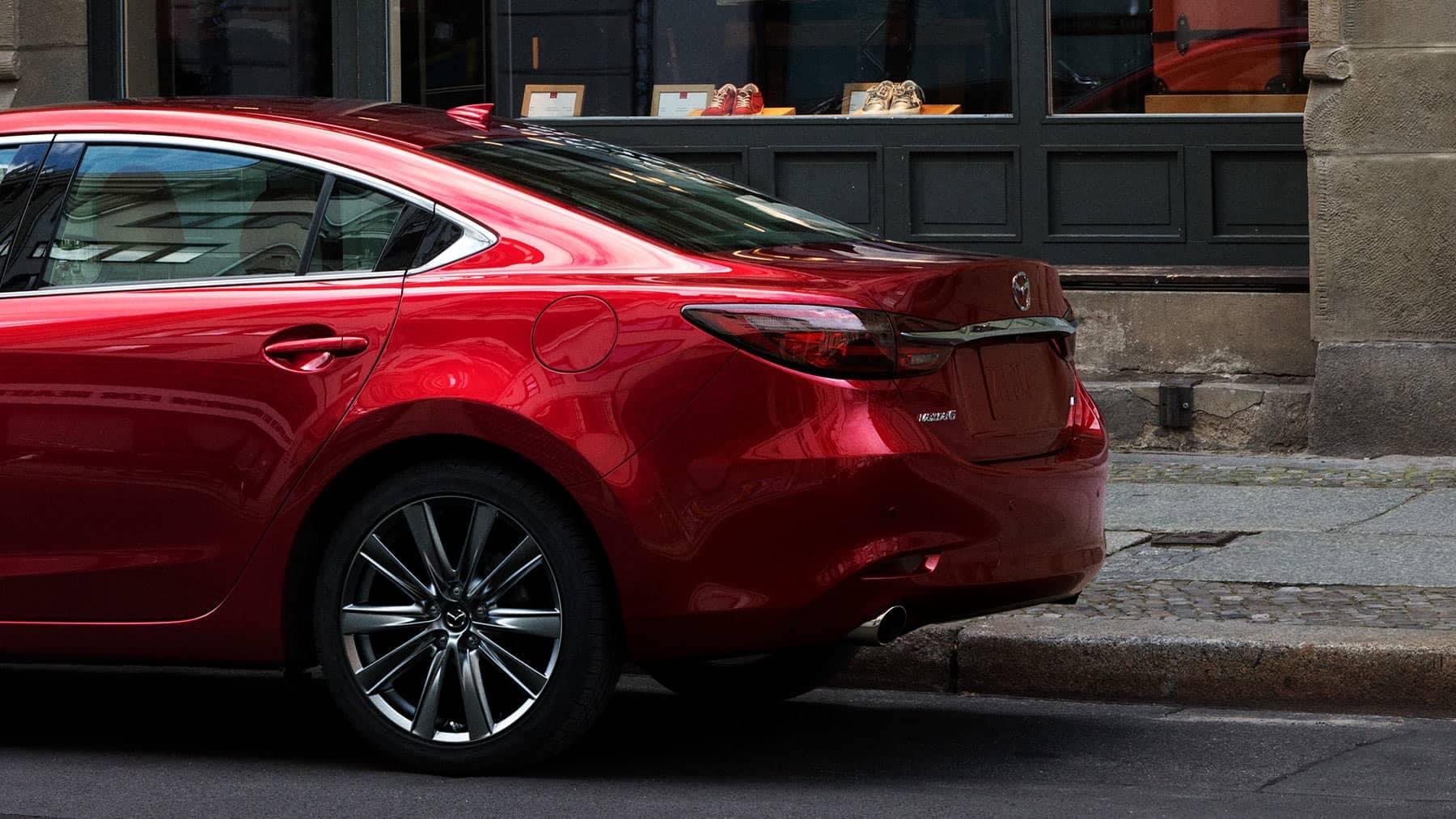 2018 Mazda 6 Rear