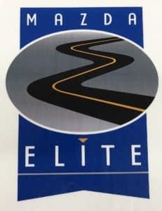 Mazda Elite Award
