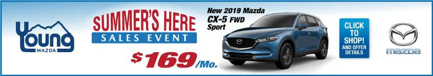 Summers Here Sales Event CX-5