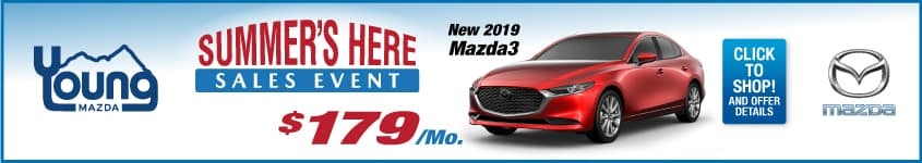 Summers Here Sales Event - Mazda3