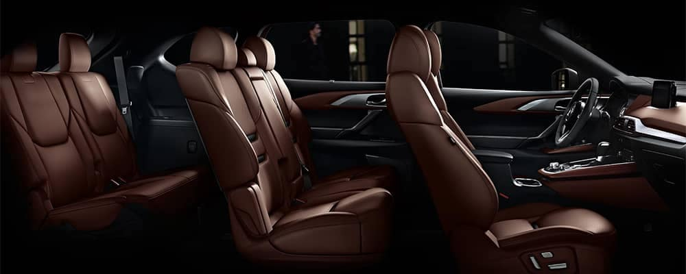 2019 Mazda CX-9 Interior Seating Side Profile View