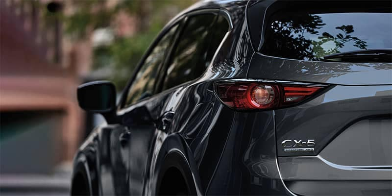 Mazda CX-5 Close up of Backend AWD