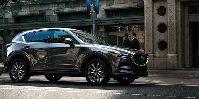 Mazda CX-5 Parked on Street