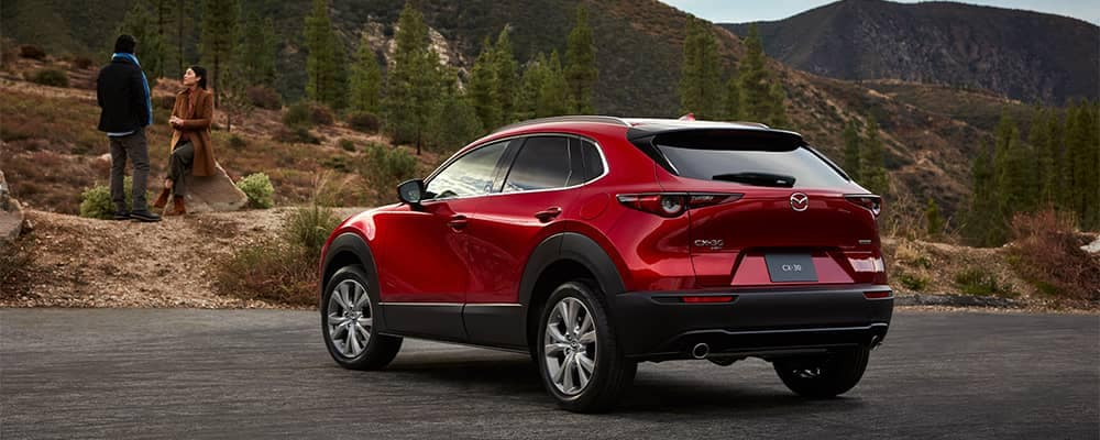 Mazda CX-30 Parked at Mountains