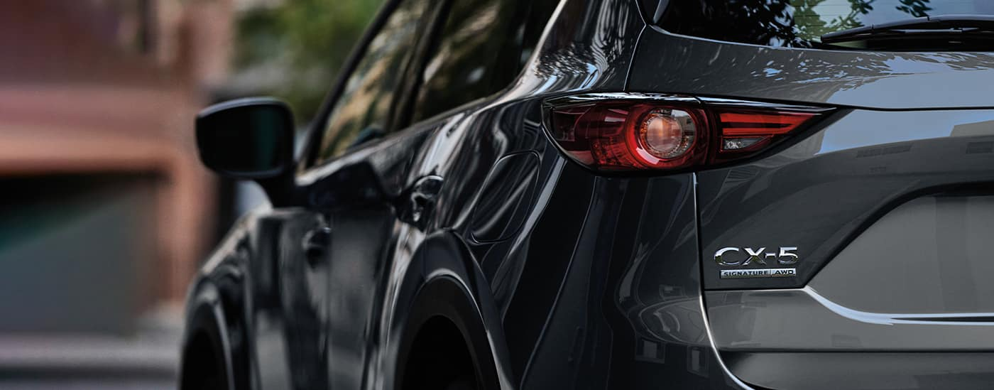 mazda cx-5 exterior from behind