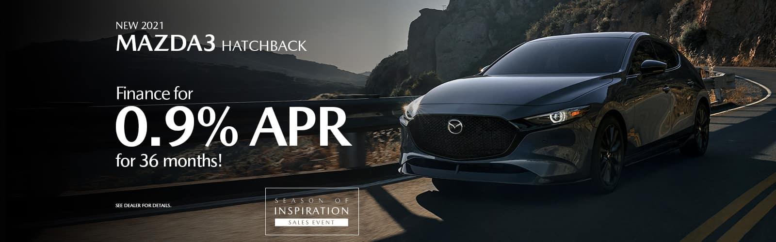 2021 Mazda 3 Hatchback