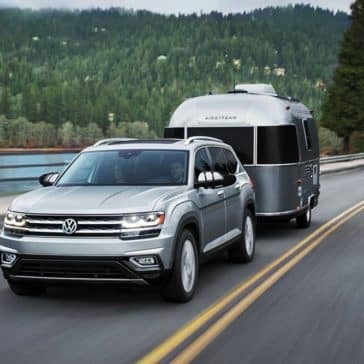 2019 Volkswagen Atlas Towing a Trailer