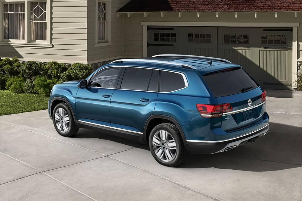 2019 Volkswagen Atlas Parked Outside Home