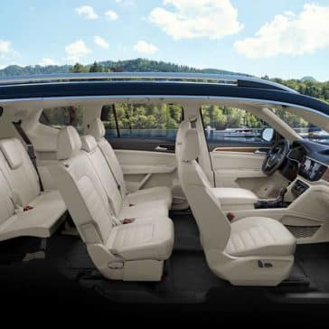 2019 Volkswagen Atlas Interior Seating