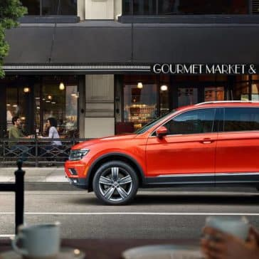 2019 VW Tiguan In The City