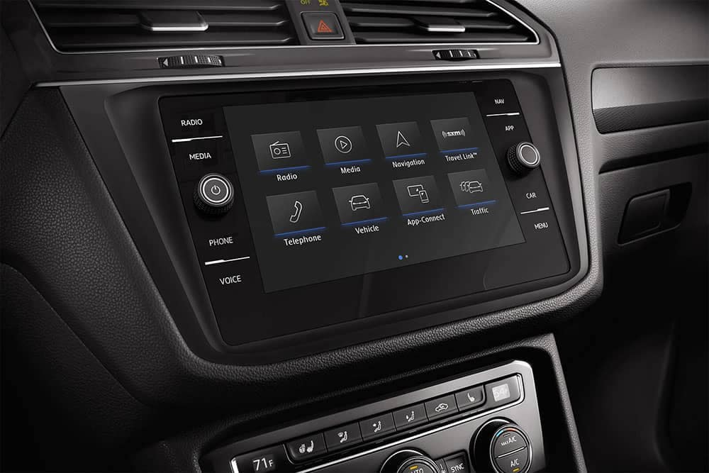 2019 VW Tiguan Touchscreen