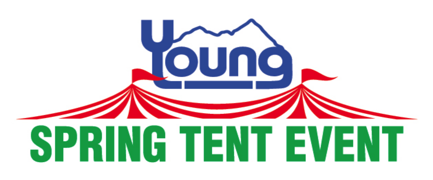 Spring Tent Sale at Young Volkswagen