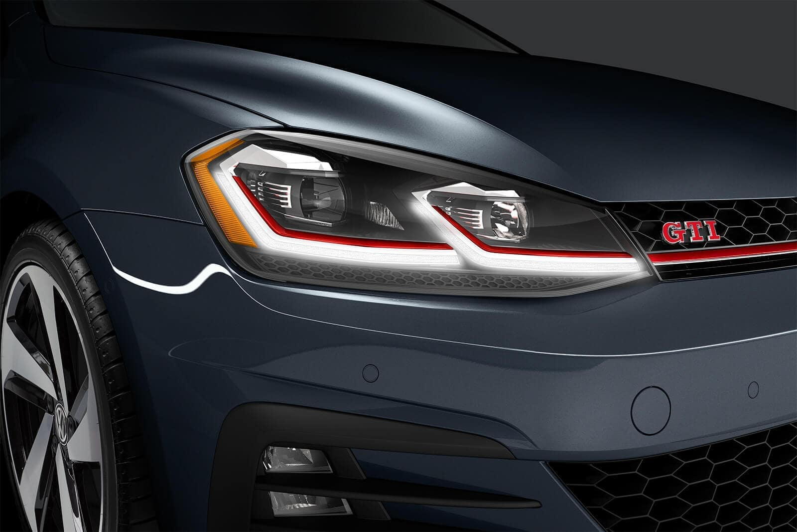 2019 VW Golf GTI Headlight