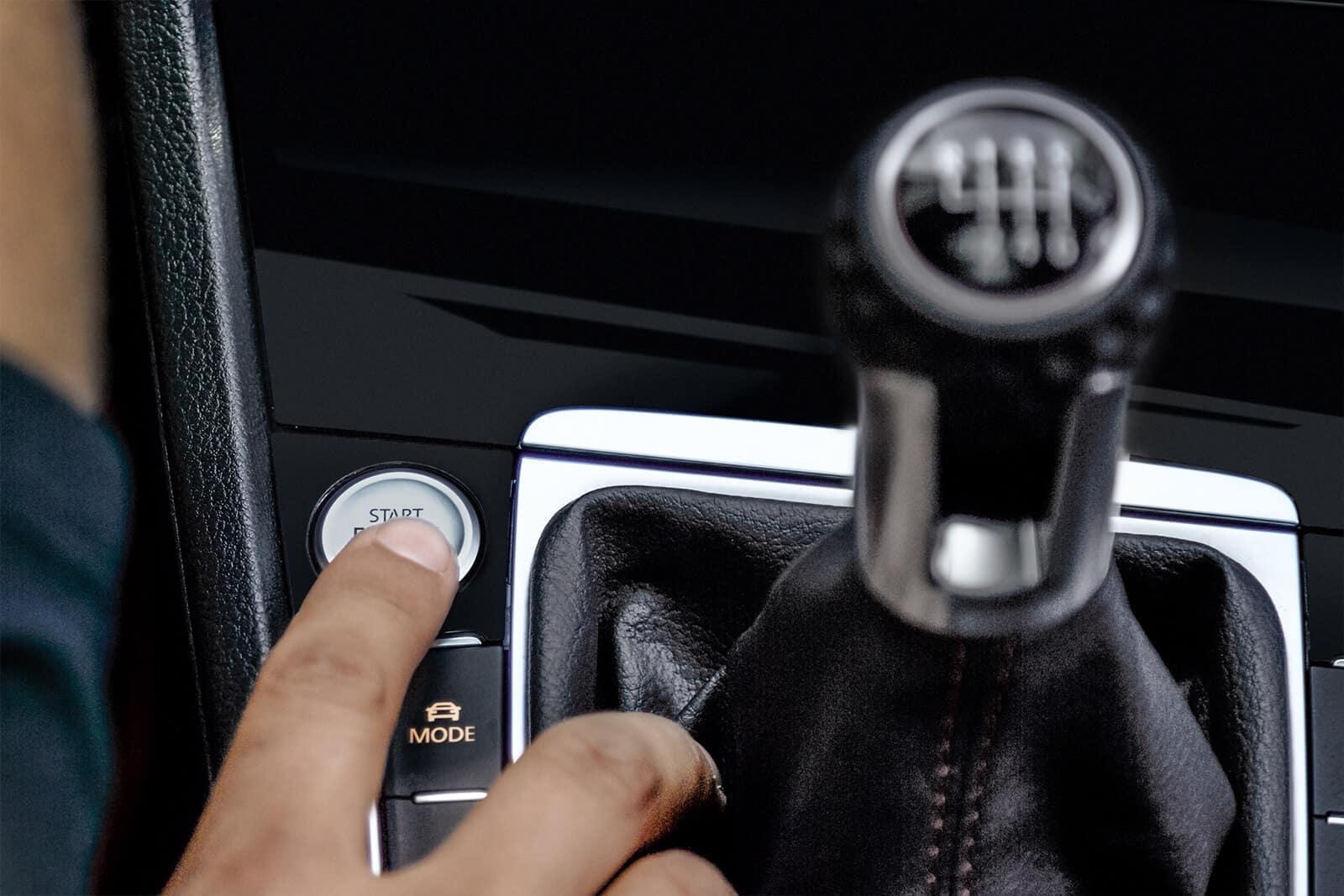 2019 VW Golf GTI Shifter