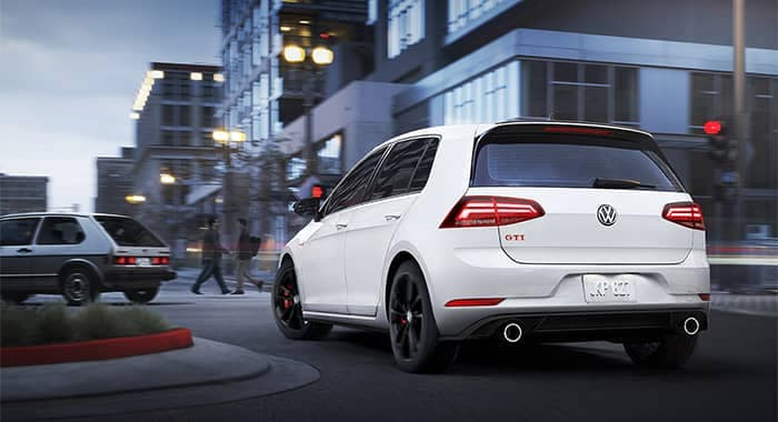 Volkswagen Golf GTI Turning a Corner